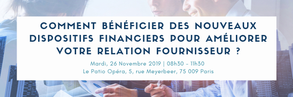 INVITATION EVENEMENT ! Determine – Kyriba – Althea | Comment bénéficier des nouveaux dispositifs financiers pour améliorer votre relation fournisseur ?