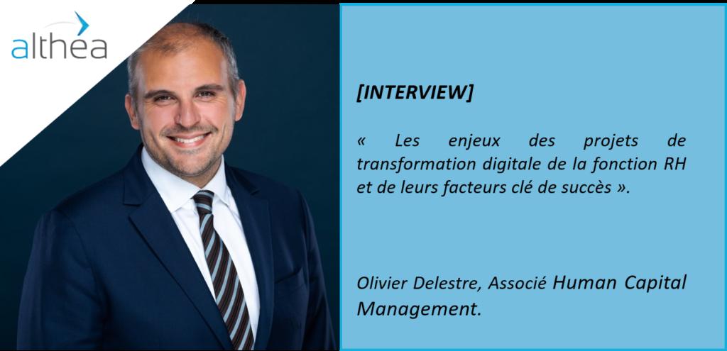 Les enjeux de transformation digitale de la fonction RH par Olivier Delestre